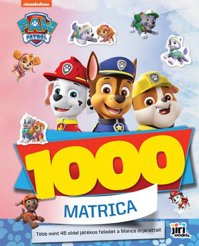 1000 matrica - Mancs őrjárat