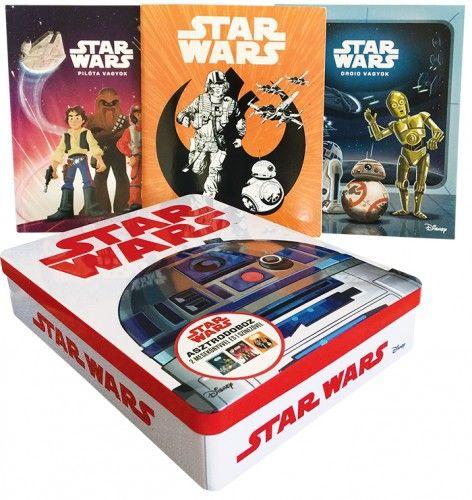 Star Wars -Asztrodoboz (benne: 2 mesekönyv és 1 színező) -  pdf epub