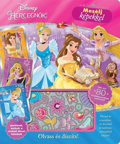 Disney Hercegnők - Mesélj képekkel