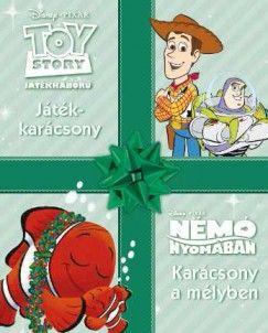 Disney mesék - Toy story - Játékkarácsony - Némó nyomában - Karácsony a mélyben -  pdf epub