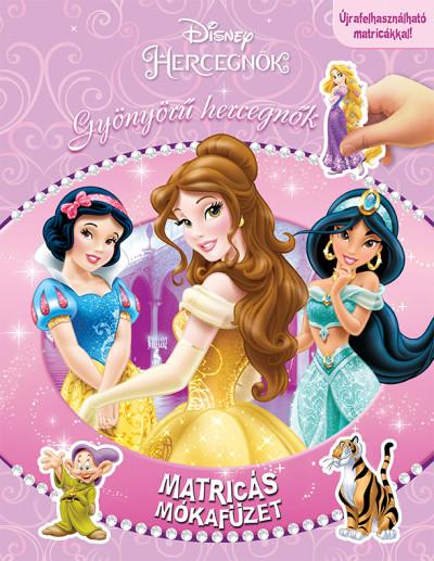 Matricás mókafüzet - Gyönyörű hercegnők