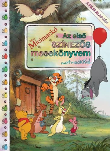 Micimackó - Az első színezős mesekönyvem matricákkal
