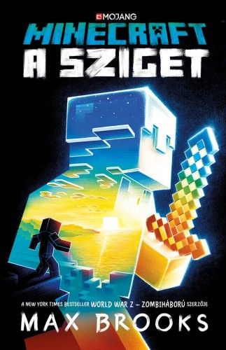 Minecraft - A sziget - Max Brooks pdf epub