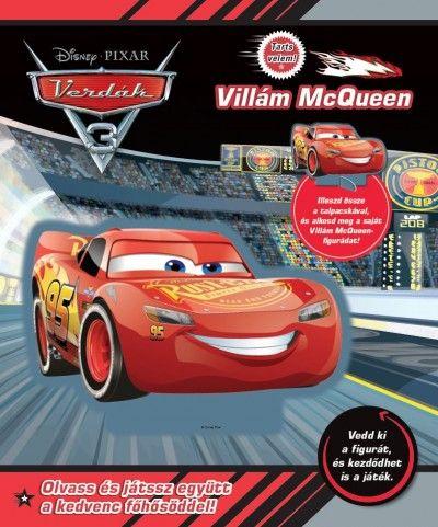 Verdák 3 - Tarts velem! - Villám McQueen - Disney |