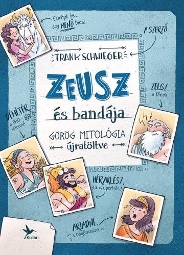 Zeusz és bandája - Frank Schwieger pdf epub