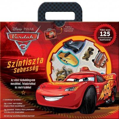 Disney - Verdák 3. - Színtiszta sebesség (táskakönyv)