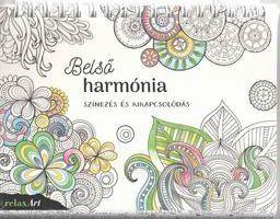 Belső harmónia - Színezés és kikapcsolódás -  pdf epub