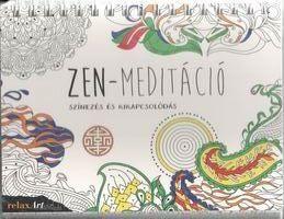 Zen meditáció - Színezés és kikapcsolódás -  pdf epub