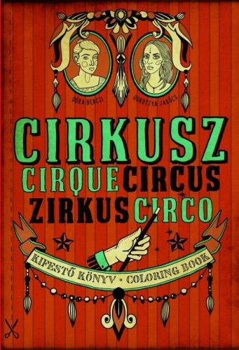 Cirkusz - Kifestő könyv