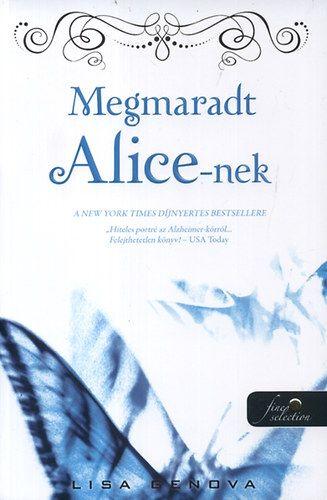 Megmaradt Alice-nek - Kemény kötés - Lisa Genova pdf epub