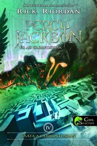 Percy Jackson és az olimposziak 4. - Csata a labirintusban - kemény kötés