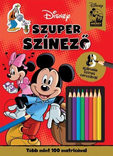 Szuper szinező - Mickey egér