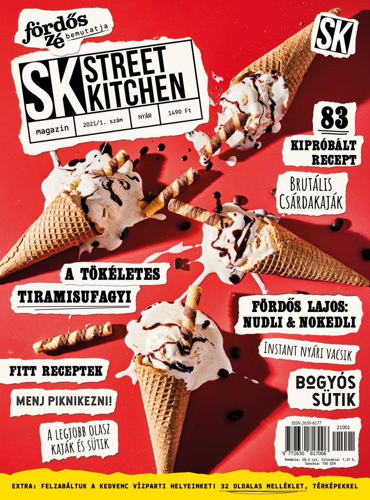 Street Kitchen magazin NYÁR 2021/1