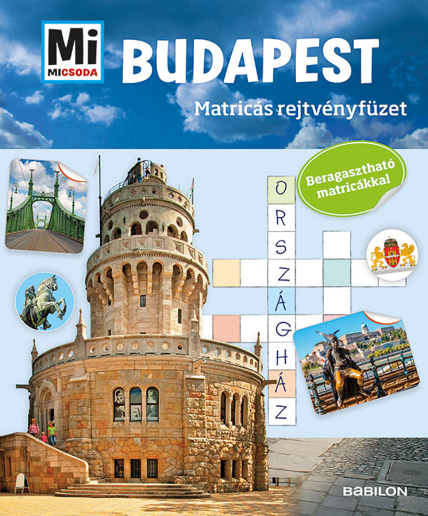 Budapest - Matricás rejtvényfüzet
