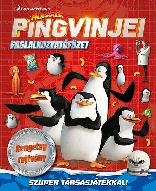 Madagaszkár pingvinjei - foglalkoztatófüzet
