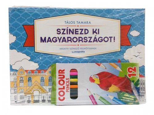 Színezd ki Magyarországot! - ajándék ceruzával