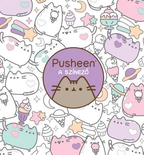 Pusheen – A színező - Claire Belton pdf epub