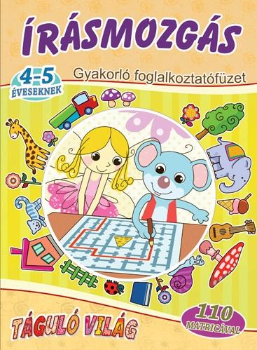Írásmozgás 4-5 éveseknek