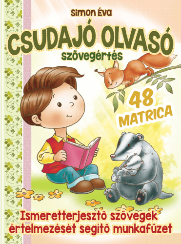 Csudajó olvasó! - 48 matricával - Simon Éva pdf epub