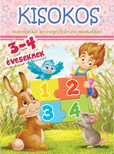 Kisokos - matematika munkafüzet 3-4 éveseknek