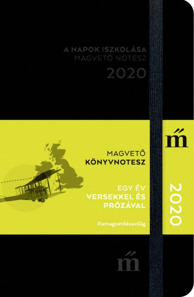 A napok iszkolása 2020 - Egy év versekkel és prózával - Magvető könyvnotesz