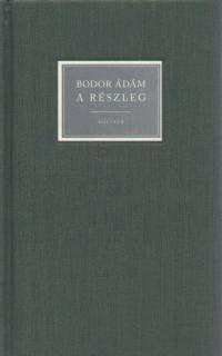 A részleg - Bodor Ádám pdf epub