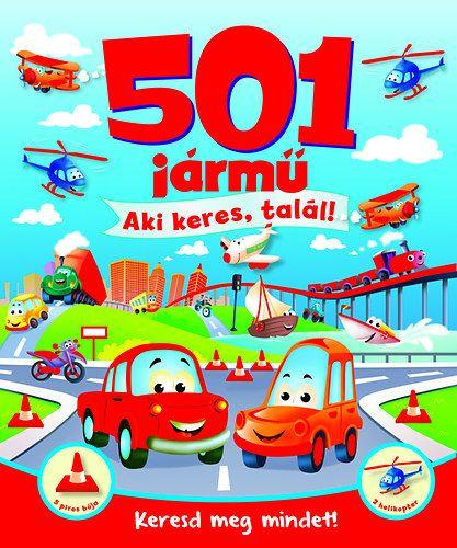 501 jármű - Aki keres, talál! -  pdf epub