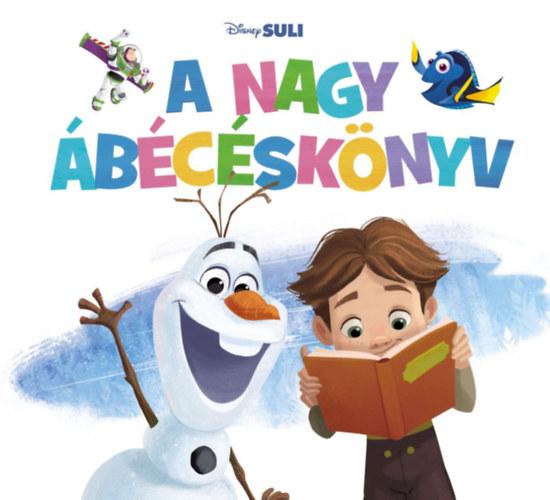 A nagy ábécéskönyv - Disney Suli -  pdf epub