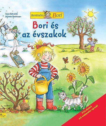 Bori és az évszakok - Barátnőm Bori - Liane Schneider |