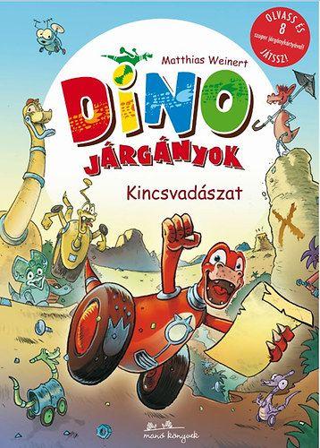 Dino járgányok 1. - Kincsvadászok