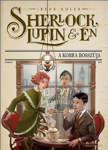 Sherlock, Lupin és én - A kobra bosszúja