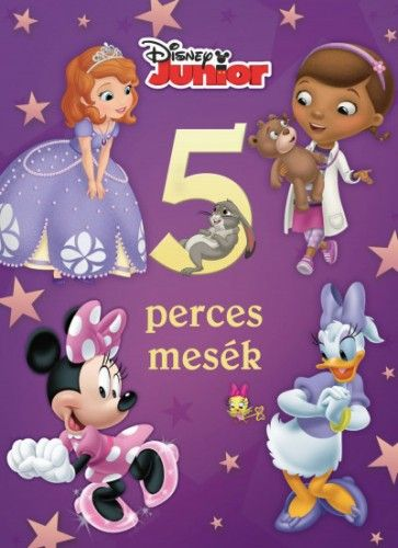 Disney Junior - 5 perces mesék -  pdf epub