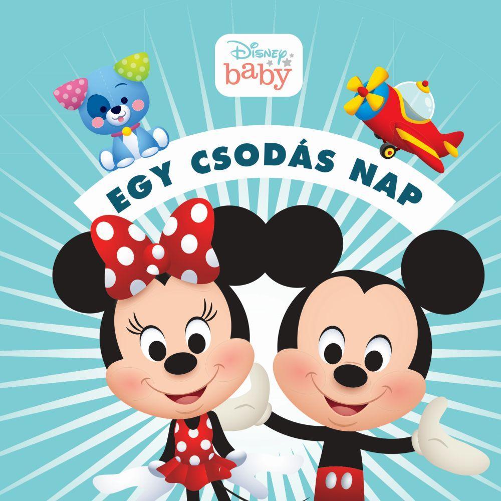 Disney Baby - Egy csodás nap - zörgős textil könyv