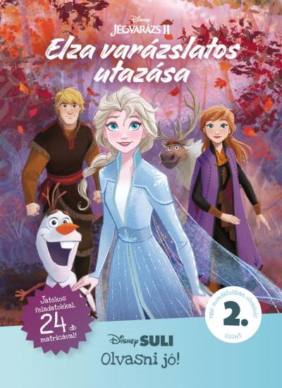 Elza varázslatos utazása - Disney Suli Olvasni jó! sorozat 2. szint -  pdf epub