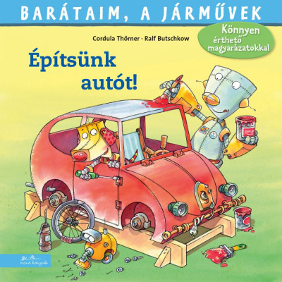 Építsünk autót! - Cordula Thörner pdf epub