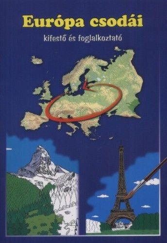 Európa csodái - Kifestő és foglalkoztató
