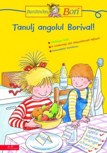 Tanulj angolul Borival! - Barátnőm, Bori foglalkoztató füzet