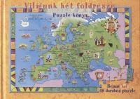 Világunk hét földrésze - Puzzle-könyv - Jennifer Mappin pdf epub