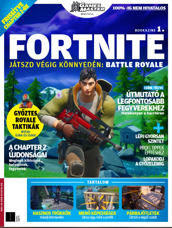Fortnite bookazine 1. -  pdf epub