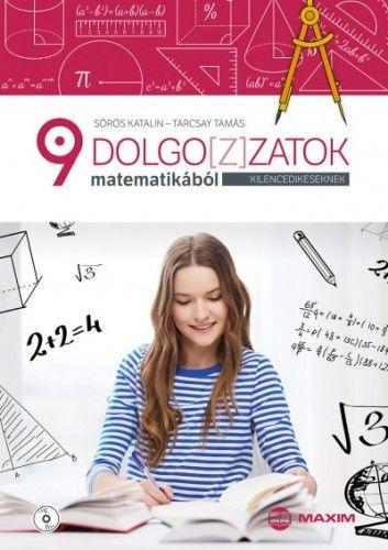 Dolgoz(z)atok matematikából kilencedikeseknek (CD melléklettel) - Sörös Katalin pdf epub