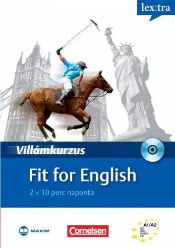 Fit for English - 2×10 perc naponta - CD melléklettel - Villámkurzus