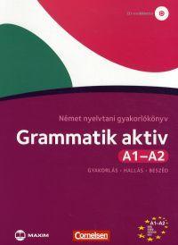 Grammatik aktív A1-A2 - Német nyelvtani gyakorlókönyv (CD melléklettel)