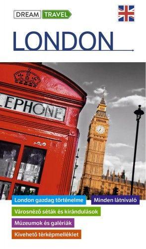 London útikönyv - kivehető térképmelléklettel