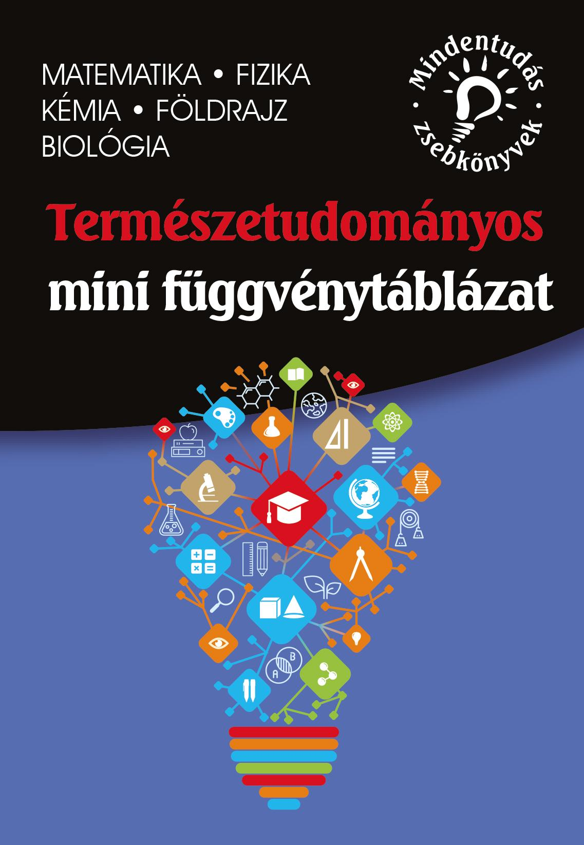 Természettudományos mini függvénytáblázat – matematika, fizika, kémia, földrajz, biológia - dr. Molnár Miklós pdf epub
