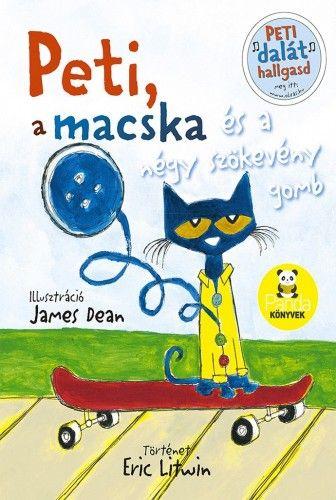 Peti, a macska és a négy szökevény gomb - Eric Litwin pdf epub