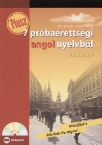 Plusz 7 próbaérettségi angol nyelvből - Középszint - CD melléklettel