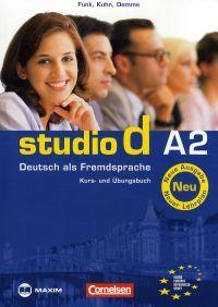 Studio d A2 - Kurs und Übungsbuch Neu ( mit CD )