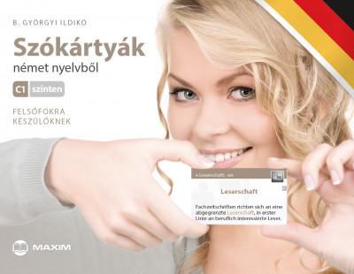 Szókártyák német nyelvből C1 szinten - Felsőfokra készülőknek