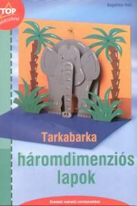 Tarkabarka háromdimenziós lapok