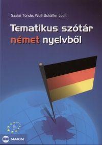 Tematikus szótár német nyelvből